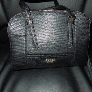 GUESS Small Leather Like Satchel